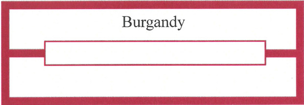 1000 Burgundy Title Strips