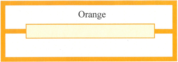 200 Orange Title Strips