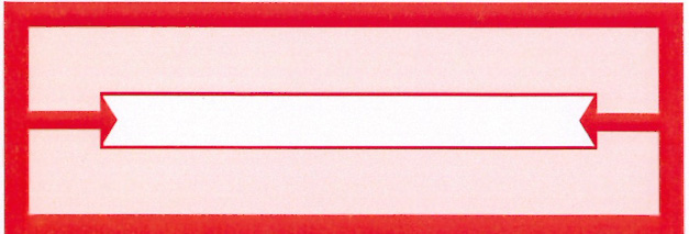 600 Red Arrow Title Strips